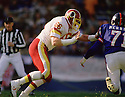 Washington Redskins Joe Jacoby (66) during a game from his career against the New York Giants.  Joe Jacoby  played for 13 season all with the Washington Redskins and was 4-time Por Bowler.(SportPics)