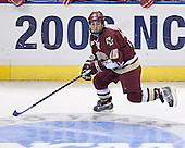 Stephen Gionta- The University of Wisconsin Badgers defeated the Boston College Eagles 2-1 on Saturday, April 8, 2006, at the Bradley Center in Milwaukee, Wisconsin in the 2006 Frozen Four Final to take the national Title.