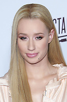 SANTA MONICA, CA, USA - OCTOBER 08: Iggy Azalea arrives at the Vevo CERTIFIED SuperFanFest held at Barkar Hangar on October 8, 2014 in Santa Monica, California, United States. (Photo by David Acosta/Celebrity Monitor)