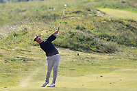 Jacob McGoldrick (Enville) on the 4th fairway during Round 3 of the Lytham Trophy, held at Royal Lytham & St. Anne's, Lytham, Lancashire, England. 05/05/19<br /> <br /> Picture: Thos Caffrey / Golffile<br /> <br /> All photos usage must carry mandatory copyright credit (© Golffile | Thos Caffrey)