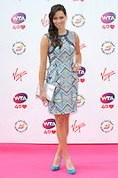 NON EXCLUSIVE PICTURE: PAUL TREADWAY / MATRIXPICTURES.CO.UK<br /> PLEASE CREDIT ALL USES<br /> <br /> WORLD RIGHTS<br /> <br /> Serbian tennis player Ana Ivanovic attending the WTA Pre Wimbledon Party, at London's Kensington Roof Gardens.<br /> <br /> 20th JUNE 2013<br /> <br /> REF: PTY 134225