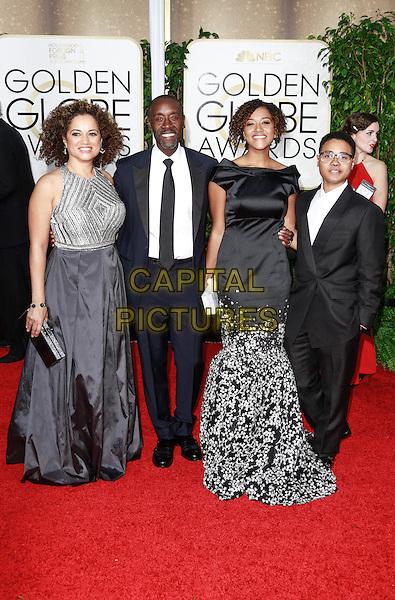 BEVERLY HILLS, CA - January 11: Don Cheadle at Golden Globes 2015 held at Beverly Hilton in Beverly Hills, California on January 11, 2015.  <br /> CAP/MPI/mpi500<br /> &copy;mpi500/MPI/Capital Pictures