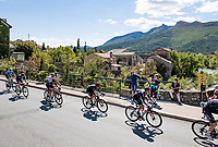 Egan Bernal (COL/Ineos Grenadiers) passing through the town of Serres<br /> <br /> Stage 4 from Sisteron to Orcières-Merlette (161km)<br /> <br /> 107th Tour de France 2020 (2.UWT)<br /> (the 'postponed edition' held in september)<br /> <br /> ©kramon