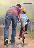 Marcello, MASCULIN, MÄNNLICH, MASCULINO, paintings+++++,ITMCEDM1067A,#M# father,son ,everyday