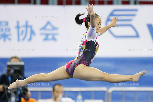 Mai Murakami (JPN), OCTOBER 6, 2014 - Artistic Gymnastics : 2014 World Artistic Gymnastics Championships <br /> Women's Qualification at the Guangxi Gymnasium in Nanning, China. (Photo by Yusuke Nakanishi/AFLO SPORT)