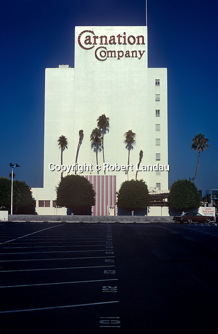 The Carnation Co, building on Wilshire Blvd. in the Miracel Mile district of Los Angeles