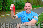 Fifty year old Willie Guiney from Listowel who took part in the London marathon last week, his 2nd marathon in a month.