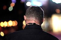 A plain clothed police officer on a night time patrol in Oslo.<br /> <br /> <br /> Stig Gaustad fra Sentrum Politistasjons etteretningsavdeling følger med på utelivet i Oslo sentrum. . (Foto:Fredrik Naumann/Felix Features)