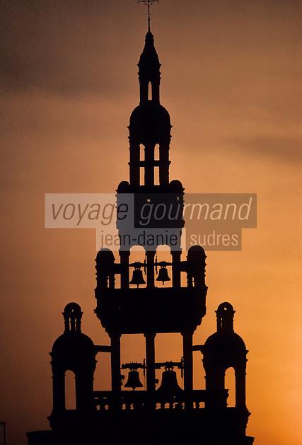 Europe/France/Bretagne/29/Finistère/Roscoff: Clocher Renaissance de Notre-Dame-de-Kroaz-Baz