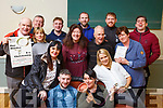 The cast of Na Gaels play, One Murder and a Christening&rdquo; at the launch in the clubhouse last Thursday night.<br /> Seated l-r, Mary Quirke, Dermot Herlihy, Noelle Kingston and Marguerite Maunsell.<br /> Standing, l-r, Michael Moynihan, Jimmy Adams, Soracha Ni Suilleabhain, Eoghain Sheehy, Helen Sugrue, Kieran Dineen, Colm O&rsquo;Suilleabhain, Dan O&rsquo;Connor, Margaret Doody and David Culloty.