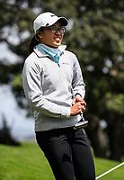 Caryn Khoo wins the Charles Tour Augusta Funds Management Ngamotu Classic, Ngamotu Golf Course, New Plymouth, New Zealand, Sunday 15 October 2017.  Photo: Simon Watts/www.bwmedia.co.nz