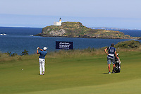 Darren Fichardt (RSA) on the 4th during Round 4 of the Aberdeen Standard Investments Scottish Open 2019 at The Renaissance Club, North Berwick, Scotland on Sunday 14th July 2019.<br /> Picture:  Thos Caffrey / Golffile<br /> <br /> All photos usage must carry mandatory copyright credit (© Golffile | Thos Caffrey)