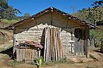 Casa de pau a pique, campo rural de Santo Antonio do Pinhal. Sao Paulo. 2010. Foto de Marcia Minillo.