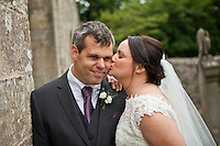 Tim & Fiona On Their Wedding Day