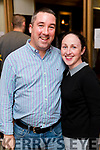 Brendan Moran and Trish Moran at the John Mitchels GAA 'Strictly Come Dancing' at Ballygarry House Hotel on Sunday night.