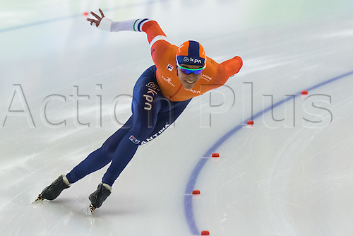 January 29th 2017, Sportforum, Berlin, Germany; ISU Speed Skating World Cup;  ISU Speed Skating World Cup , 500m Division A; Dai Dai Ntab (NED)