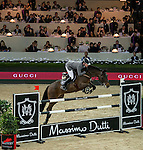 Philipp Weishaupt of Germany riding Souvenir<br />  in action during the Longines Speed Challenge competition as part of the Longines Hong Kong Masters on 13 February 2015, at the Asia World Expo, outskirts Hong Kong, China. Photo by Li Man Yuen / Power Sport Images