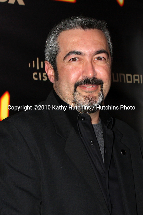 "Jon Cassar.arrives at the ""24"" Series Finale Party .Boulevard3.Los Angeles, CA.April 30, 2010.©2010 Kathy Hutchins / Hutchins Photo..."