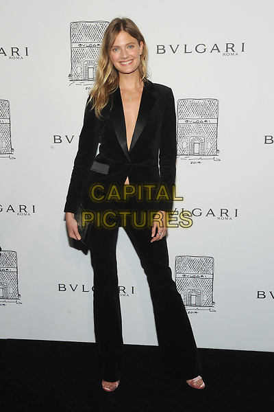 NEW YORK, NY - OCTOBER 19: Constance Jablonski attends the re-opening of the  Bulgari flagship store on Fifth Avenue in New York City on October 20, 2017. <br /> CAP/MPI/JP<br /> &copy;JP/MPI/Capital Pictures