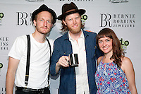 CAMDEN, NJ - JUNE 17 :  ***HOUSE COVERAGE*** The Lumineers pictured backstage at Radio 104.5 9th Birthday Show, day 2 at BB&T Pavillion in Camden, Jew Jersey on June 17, 2016 photo credit Star Shooter / MediaPunch