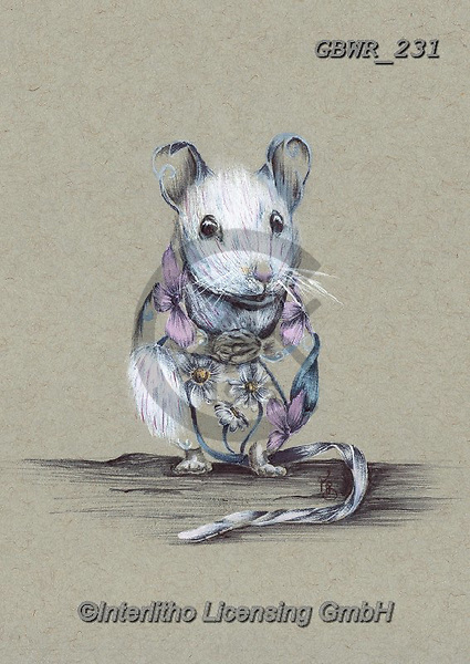 Simon, REALISTIC ANIMALS, REALISTISCHE TIERE, ANIMALES REALISTICOS, innovative, paintings+++++A_KatB_RusticMouse,GBWR231,#a#, EVERYDAY