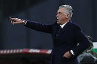 Carlo Ancelotti of Napoli reacts during the Serie A 2018/2019 football match between SSC Napoli  and Spal at stadio San Paolo, Napoli, December 22, 2018 <br />  Foto Cesare Purini / Insidefoto