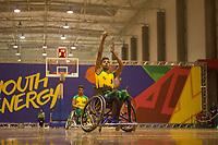 SÃO PAULO,SP, 21.03.2017 - PARAPAN-JUVENTUDE -  Basquete em Cadeira Masculino - Brasil vence Venezuela no CT Paralímpico Brasileiro, no Parapan da Juventude em São Paulo nesta terça-feira, 21.(Foto: Danilo Fernandes/Brazil Photo Press)