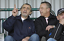21/04/2007       Copyright Pic: James Stewart.File Name : sct_jspa05_gretna_v_clyde.BROOKS MILESON AND ROWAN ALEXANDER WATCH THE GAME FROM THE BACK OF THE STAND.James Stewart Photo Agency 19 Carronlea Drive, Falkirk. FK2 8DN      Vat Reg No. 607 6932 25.Office     : +44 (0)1324 570906     .Mobile   : +44 (0)7721 416997.Fax         : +44 (0)1324 570906.E-mail  :  jim@jspa.co.uk.If you require further information then contact Jim Stewart on any of the numbers above.........