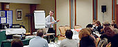 Alistair Smith leading a LEARN2LEARN conference run by Alite Ltd for teachers on an INSET DAY.