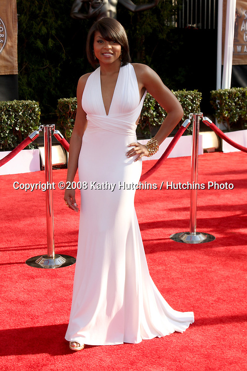 Taraji P. Henson. arriving at the Screen Actors Guild Awards, at the Shrine Auditorium in Los Angeles, CA on .January 25, 2009.©2008 Kathy Hutchins / Hutchins Photo..