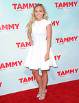 Mia Rose Frampton at The Warner Bros. Pictures' L.A. Premiere of Tammy held at The TCL Chinese Theatre in Hollywood, California on June 30,2014                                                                               © 2014 Hollywood Press Agency