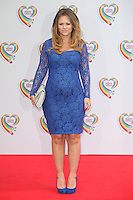 Kimberley Walsh arriving for the Health Lottery Tea Party, The Savoy, London. 02/06/2014 Picture by: Alexandra Glen / Featureflash