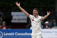Ben Coad of Yorkshire appeals for the wicket of Alastair Cook during Essex CCC vs Yorkshire CCC, Specsavers County Championship Division 1 Cricket at The Cloudfm County Ground on 7th July 2019