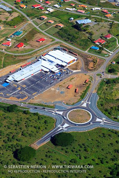 Centre commercial Teari à Koné, Nouvelle-Calédonie