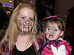 Elsie Walsh and her mam Noella pictured at the Halloween celebrations at the Laurence Centre