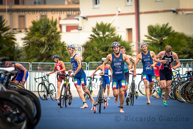 08/05/2016 - Elite Men race, 2016 Cagliari ITU Triathlon World Cup -