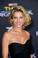 Elsa Pataky at the premiere for &quot;Thor: Ragnarok&quot; at the El Capitan Theatre, Los Angeles, USA 10 October  2017<br /> Picture: Paul Smith/Featureflash/SilverHub 0208 004 5359 sales@silverhubmedia.com