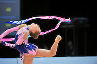 Hanna Rabtsava of Belarus performs at 2010 World Cup at Portimao, Portugal on March 13, 2010.  (Photo by Tom Theobald).