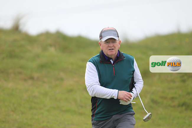playing with Jonathan Yates (Naas) on the 7th during the Flogas Irish Amateur Open Championship Am-Am at Royal Dublin on Monday 9th May 2016.<br /> Picture:  Thos Caffrey / www.golffile.ie