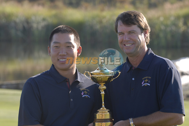 USA Team Photo with Captain Paul Azinger and Anthony Kim for the 37th Ryder Cup at Valhalla Golf Club, Louisville, Kentucky, USA, 17th September 2008 (Photo by Eoin Clarke/GOLFFILE)