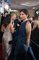 Gemma Chan attends the 76th Annual Golden Globe Awards at the Beverly Hilton in Beverly Hills, CA on Sunday, January 6, 2019.<br /> *Editorial Use Only*<br /> CAP/PLF/HFPA<br /> Image supplied by Capital Pictures