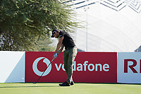 Thomas Detry (BEL) on the 11th during Round 1 of the Commercial Bank Qatar Masters 2020 at the Education City Golf Club, Doha, Qatar . 05/03/2020<br /> Picture: Golffile | Thos Caffrey<br /> <br /> <br /> All photo usage must carry mandatory copyright credit (© Golffile | Thos Caffrey)