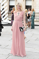 Meredith Ostrum arrives for the VIP preview of the Royal Academy of Arts Summer Exhibition 2016