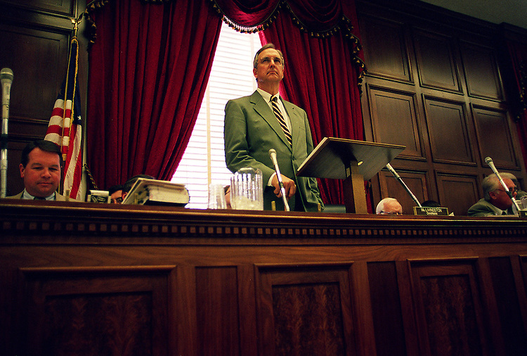 07/9/97.HOUSE APPROPRIATIONS--Chairman Robert L.Livingston,R-La., during the full committee mark up of FY 98 foreign operations appropriations..CONGRESSIONAL QUARTERLY PHOTO BY DOUGLAS GRAHAM.