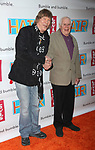 James Rado & Galt MacDermot arriving for the Opening Night Performance of HAIR: THE AMERICAN TRIBAL LOVE-ROCK MUSICAL at the Al Hirschfeld Theatre in New York City.<br />