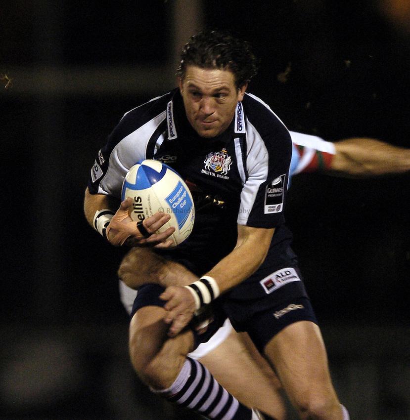 Photo: Jonathan Butler..Bristol Rugby v Bayonne. European Challenge Cup. 15/12/2006..Sam Cox of Bristol.