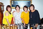 Ann Marie O'Sullivan, Mary McBride, Josephine O'Sullivan and Noreen Murphy ladies enjoying the night out in Bella Bia on Saturday night.