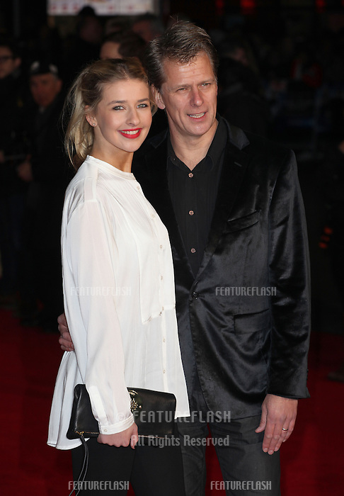 Georgina and Andrew Castle arriving for the UK Premiere of Jack Ryan, at Vue Leicester Square, London. 20/01/2014 Picture by: Alexandra Glen / Featureflash
