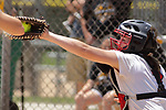 02 June 2017:  Madie Sims. Goreville Blackcats v Heyworth Hornets class 1A IHSA Class 1A Softball Semi-Final at Eastside Centre in East Peoria Illinois