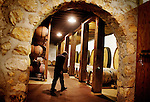Michael Miller, of Burgess Cellars, walks through the cellar which features stone walls of the original building that was built in the 1880s, in St. Helena, CA., on Sunday, June 7, 2009.
